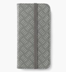 Clean Metal iPhone Wallet/Case/Skin