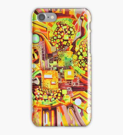 Distortion Sympathy - Watercolor Painting iPhone Case/Skin