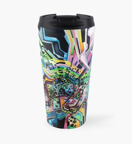 Technicavity - Watercolor Painting Travel Mug