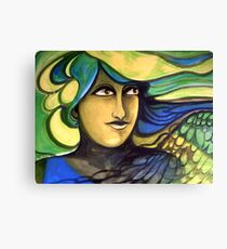 Green Goddess. Canvas Print