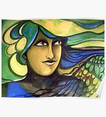 Green Goddess. Poster