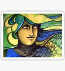 Green Goddess. Sticker