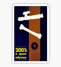 Science fiction movie poster Sticker