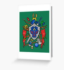 Legend of Items Greeting Card