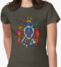 Legend of Items Womens Fitted T-Shirt