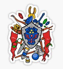 Legend of Items Sticker
