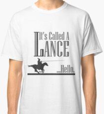 Ein Rittergeschichten Lance Joust Classic T-Shirt