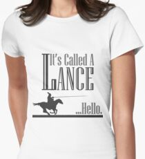 Camiseta entallada A Knight's Tale Lance Joust