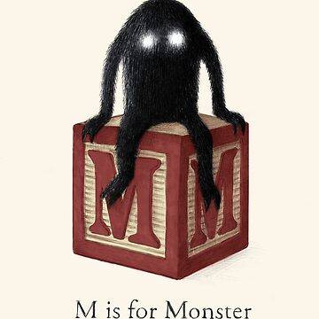 M is for Monster by TerryFan