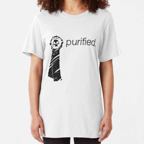 Purity Seal (Light Background) Slim Fit T-Shirt