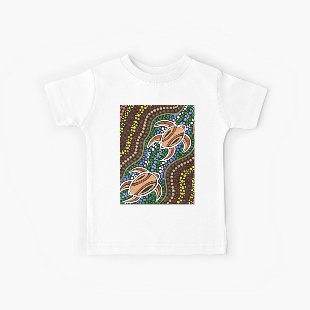 Schildkröte träumen Kinder T-Shirt