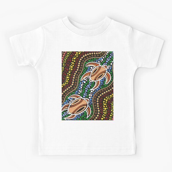 Turtle Dreaming Kids T-Shirt