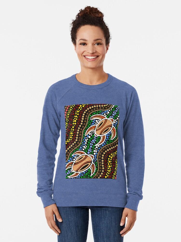 Alternative Ansicht von Schildkröte träumen Leichter Pullover
