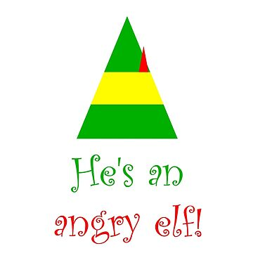He's an angry elf! by darrensurrey
