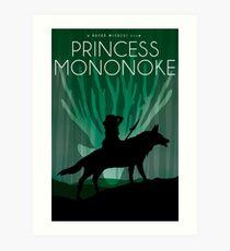 Princess Mononoke Movie Poster Art Print