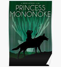 Princess Mononoke Movie Poster Poster