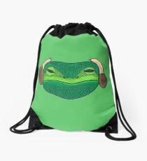 Leia Frog Drawstring Bag