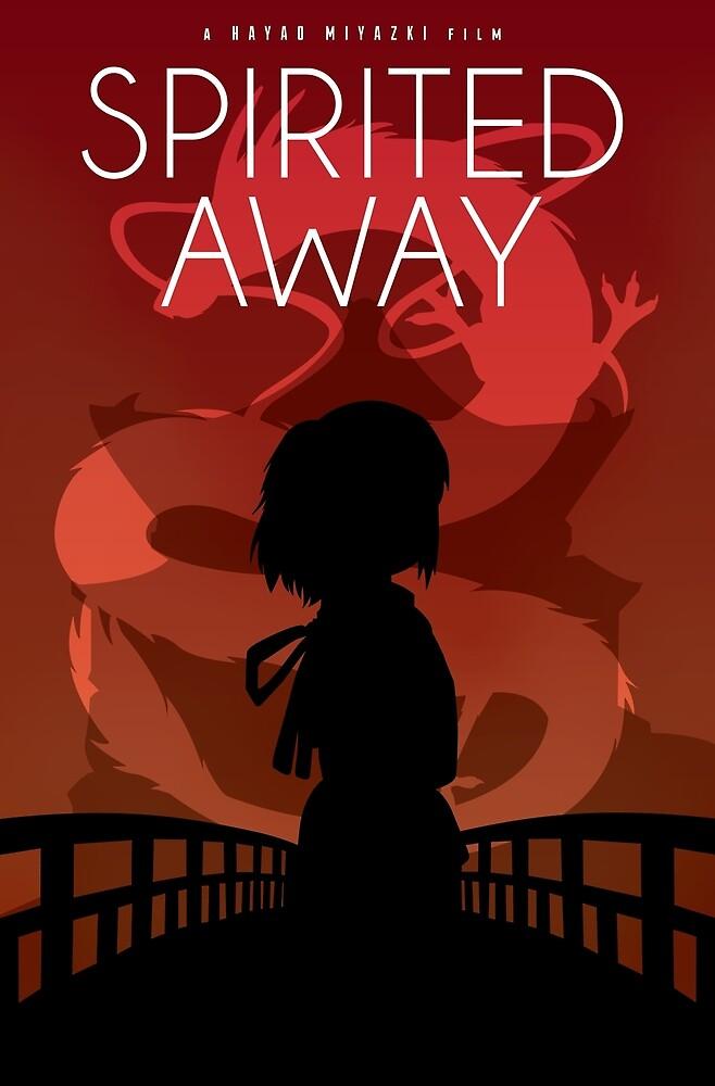 Spirited Away Movie Poster by cheryldesigns