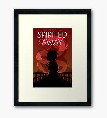 Lámina enmarcada Póster de la película Spirited Away