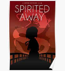 Spirited Away Movie Poster Poster