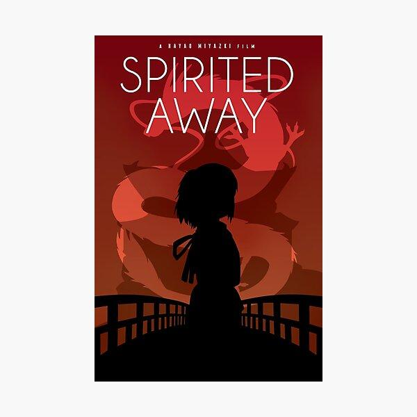 Spirited Away Movie Poster Photographic Print