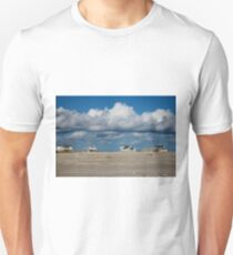Clouds Over Beach Houses T-Shirt