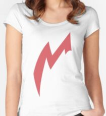 Zangoose Stripe Women's Fitted Scoop T-Shirt