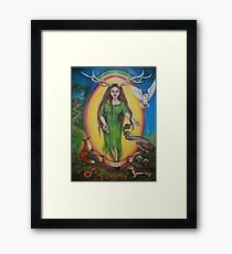 Elen of the ways Framed Print