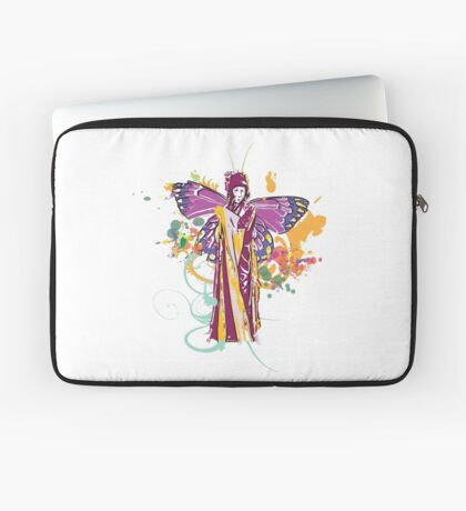 fairy with broken wing and swirls Laptop Sleeve