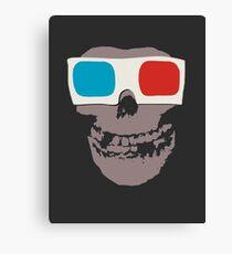 Misfits 3d Skull Canvas Print