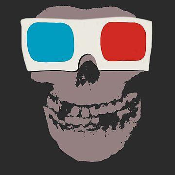 Misfits 3d Skull by geotasi