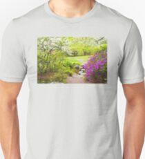 Asticou Azelea Garden In Spring Photograph Unisex T-Shirt
