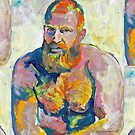 Naughty Boy - Fire Island Van Gogh by Riccoboni by RDRiccoboni