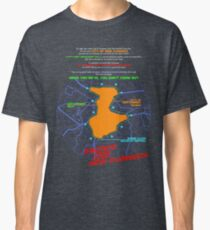 Escape From New Cumnock Orientation Map Classic T-Shirt