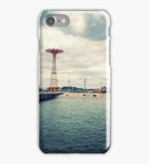 Coney Island Rides, Brooklyn iPhone Case/Skin