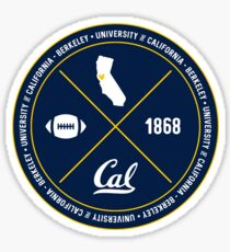 UC Berkeley - Style 12 Sticker