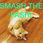 Smash the Fash! by chaoticfemme