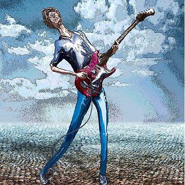 Skinny Guitar by Borstelman