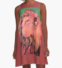 Lion. A-Line Dress