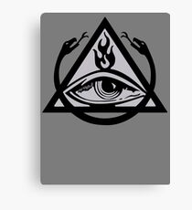 The Order of the Triad (The Venture Brothers) - No text! Canvas Print