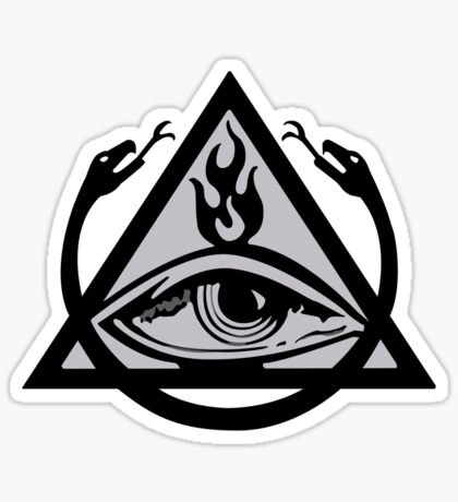 The Order of the Triad (The Venture Brothers) - No text! Sticker