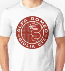 Alfa Romeo Giulia GTA RED T-Shirt