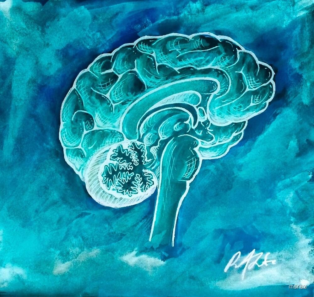 The Blue Brain by msraz