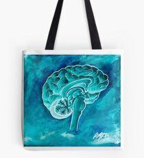 The Blue Brain Tote Bag