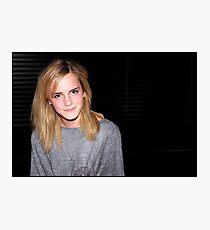 Emma Watson is 100% cute Photographic Print