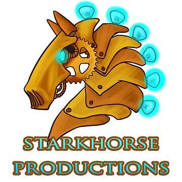 Starkhorse Productions Cartoon Logo by Starkhorse