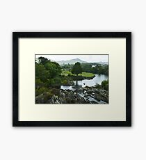 Sneem Co Kerry Ireland. Framed Print