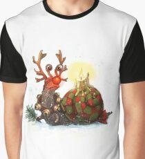 Rudolf Snail Graphic T-Shirt