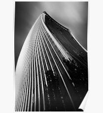 London Walkie Talkie Skyscraper Poster