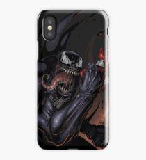 Spider and Venom, man. iPhone Case/Skin